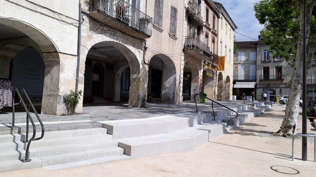 Projet de Vic Fezensac, JF Gueze architecte