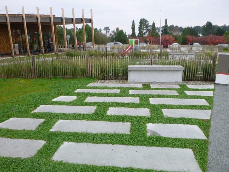 Aires des Graves - A62, M Séguy