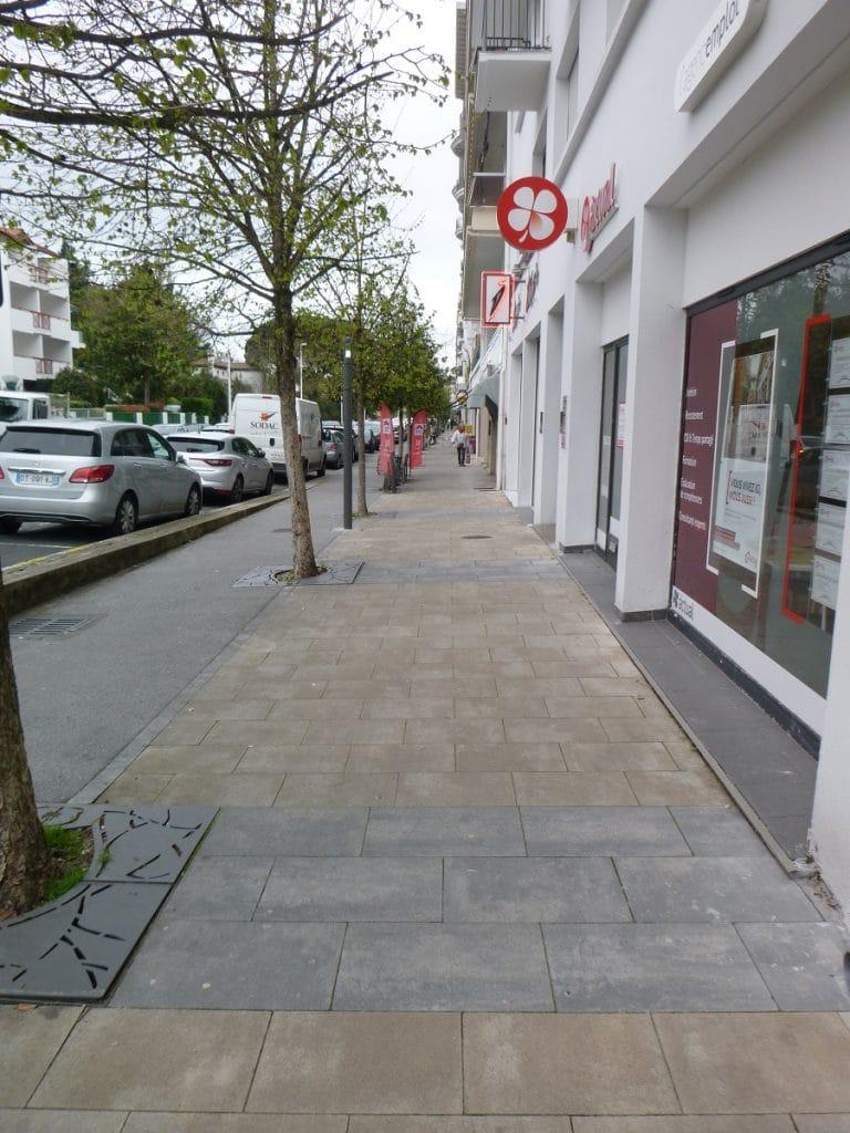 Avenue Foch - Bayonne, Service technique de la ville de Bayonne