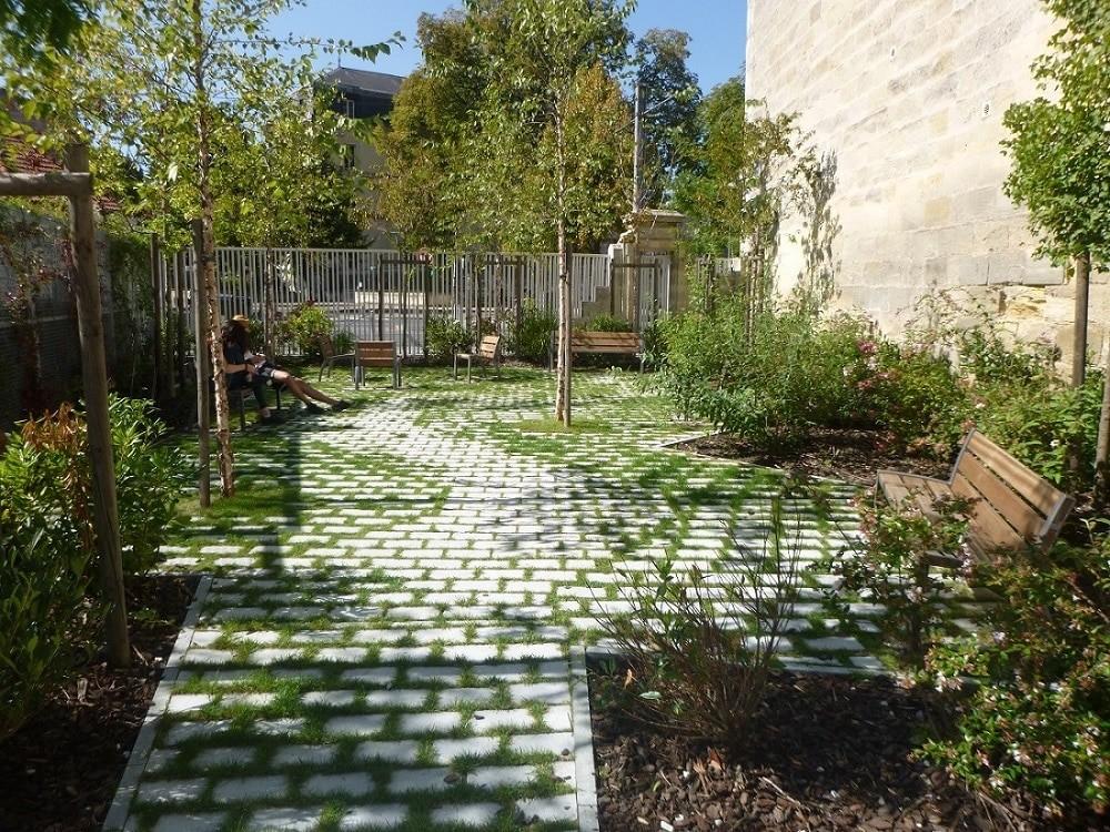 Jardin Descas - Bordeaux, Agence Sabine Haristoy