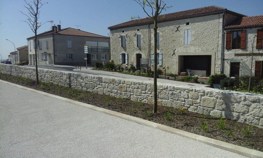 Place du Marcadieu - Laplume, Creham