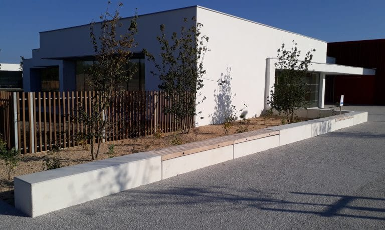 Groupe scolaire de Mios, GASTEL paysages