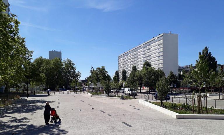 Place de l'Europe - Bordeaux, SCE atelier up+