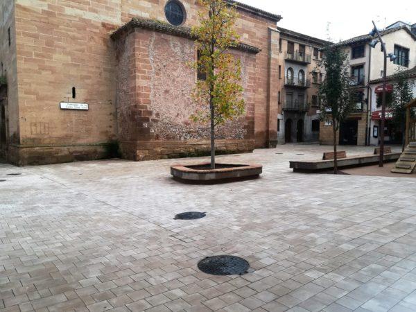 Plaza de la Cruz, Najera