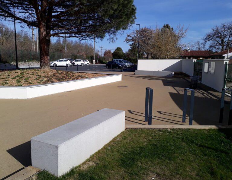 Ecole Eluda Hugon - Muret, Hêtre paysage