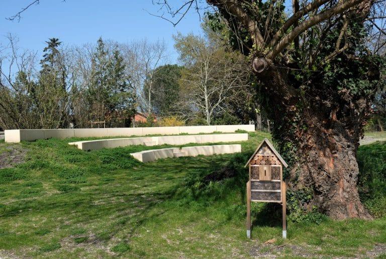 Amphithéatre – Biganos, Agence TROUILLOT & HERMEL PAYSAGISTES