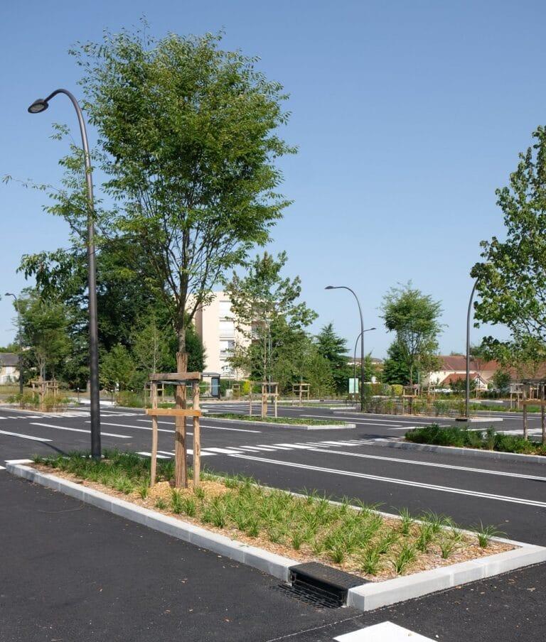 Parking relais Schoelcher - Pau, LS2 - LANDSCAPES
