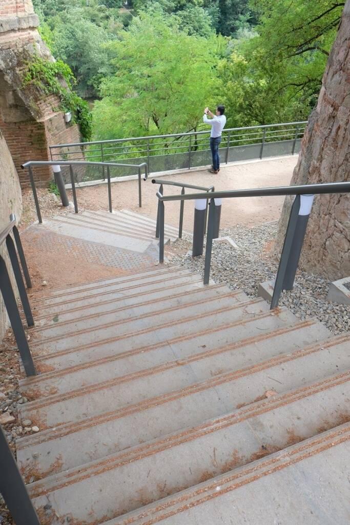 Escalier - Lavaur, ADERSEN