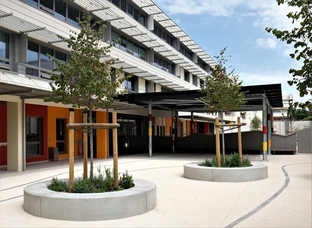 Groupe scolaire Marie Curie - Bordeaux, Usages & Paysages