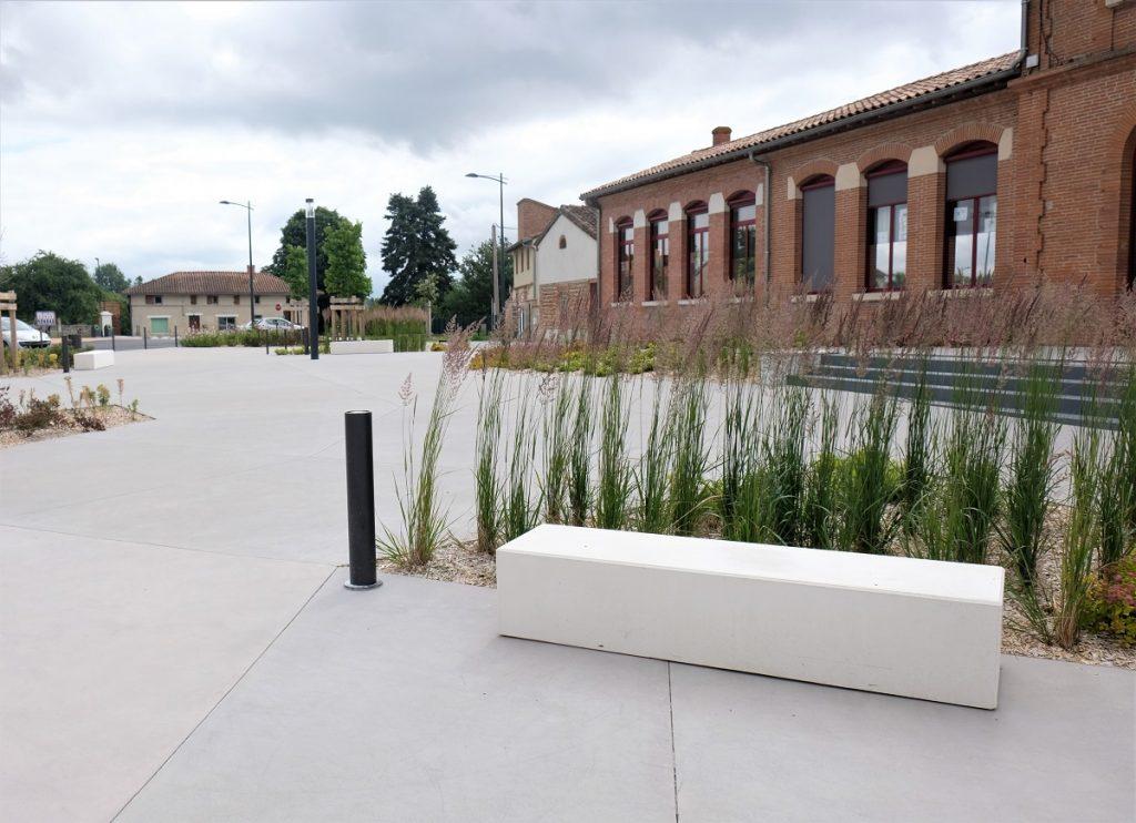 Place de la mairie - Villematier, 2AU
