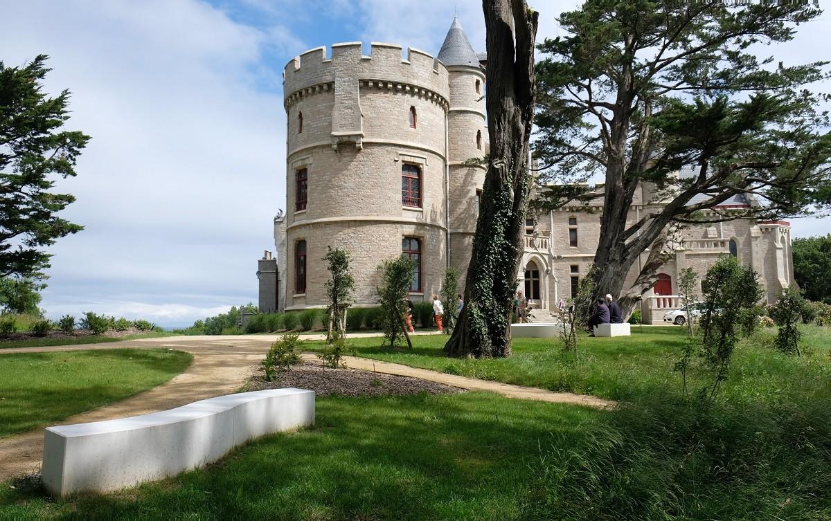 Château  d'Abbadia - Hendaye, Françoise Phiquepal et Jean Luc Marigot