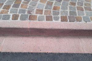 PVT - projet de Cunac, Artline, bordure couleur Cunac, gommée, détail